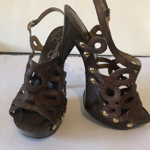 Jessica Simpson platform Sandals 6